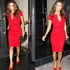 ASOS Red Bodycon Dress